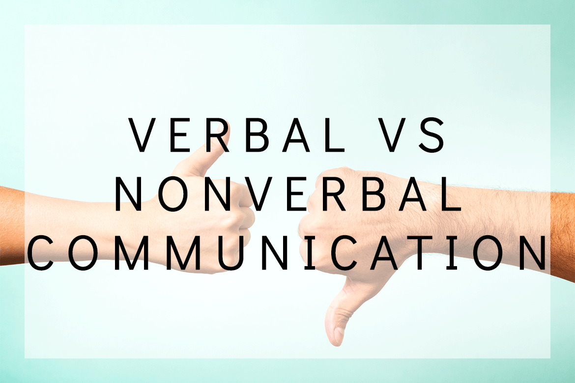 what is verbal and nonverbal communication pdf